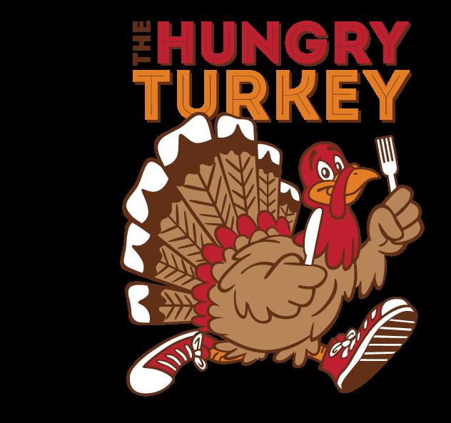 Race info the turkey. Hungry clipart logo
