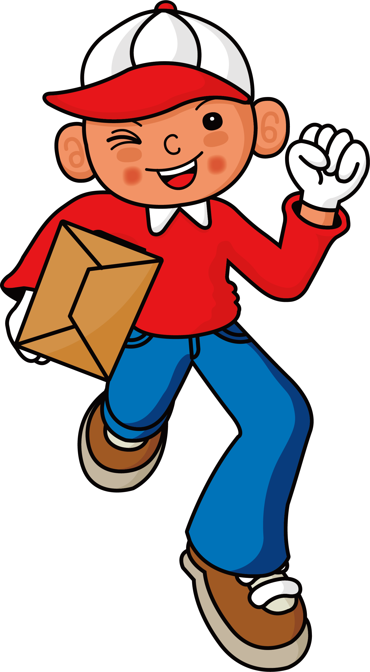 Courier logo home transprent. Mail clipart mail delivery