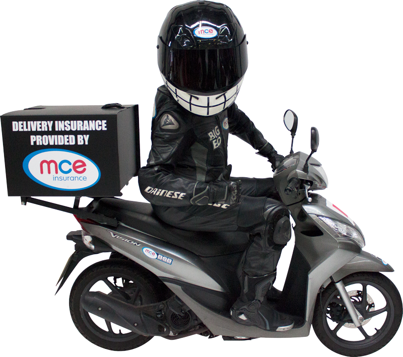 Scooter clipart delivery scooter. Fast food insurance mce