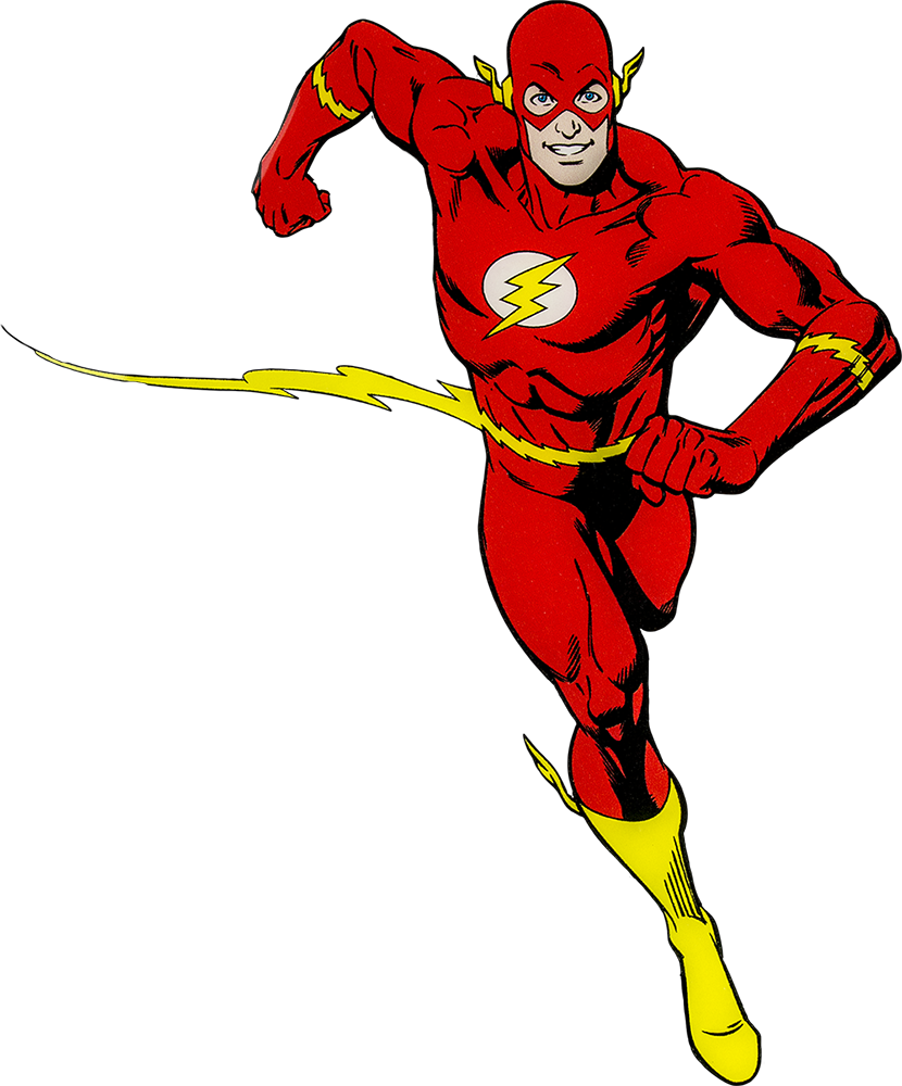 Fast clipart flash hero.  art the cake