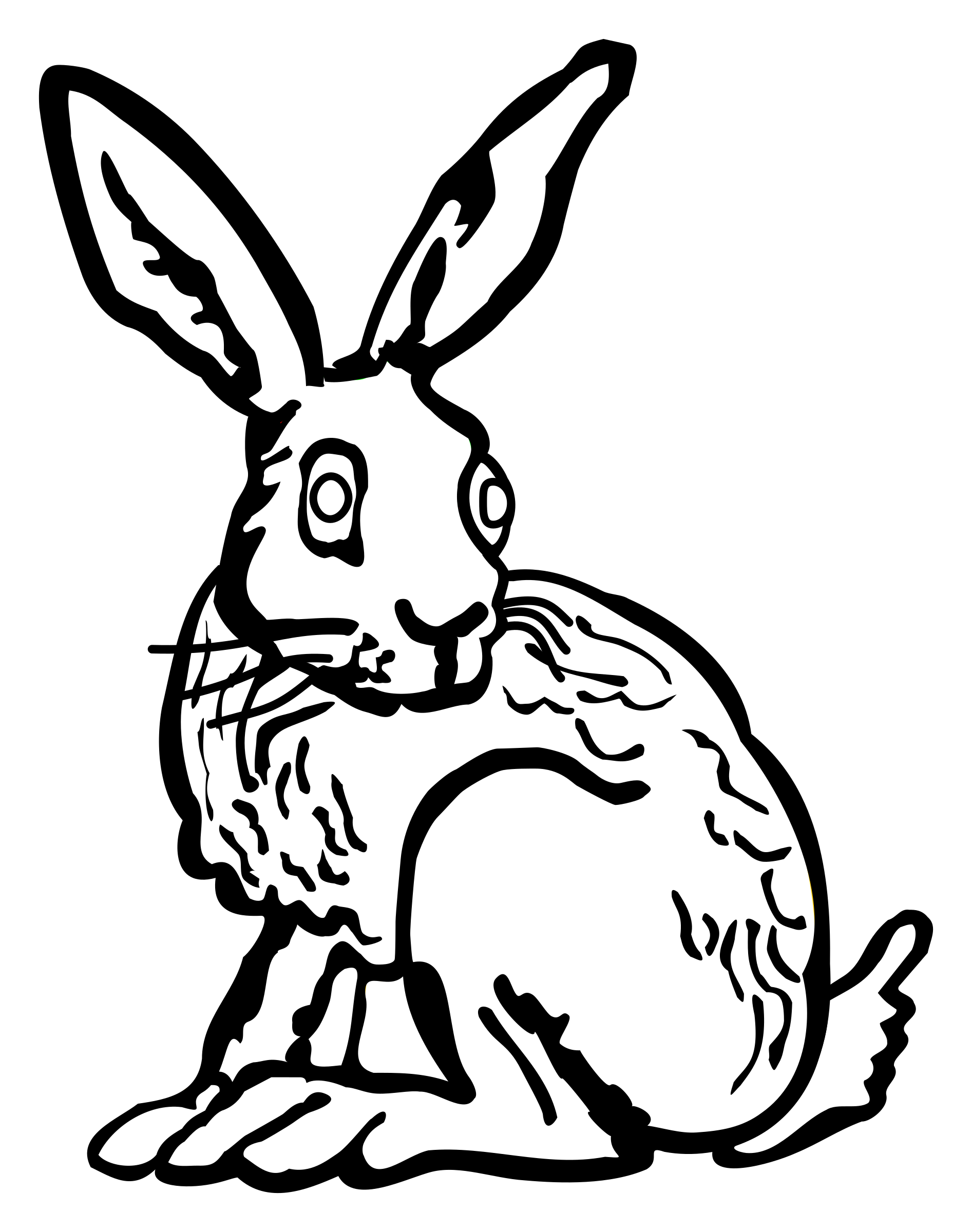 Lineart icons png free. Race clipart hare and tortoise
