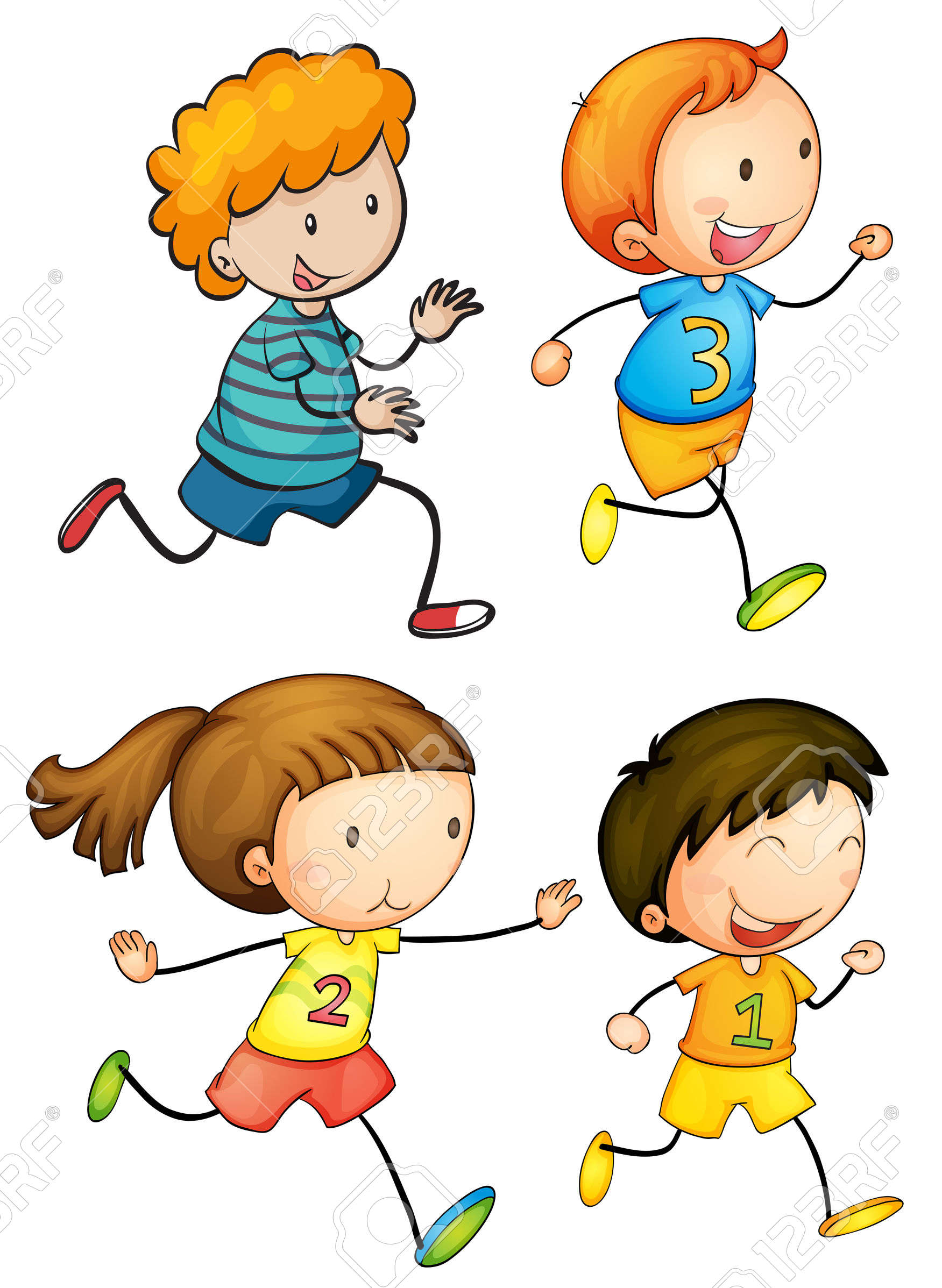 Children running free download. Race clipart kid athletic