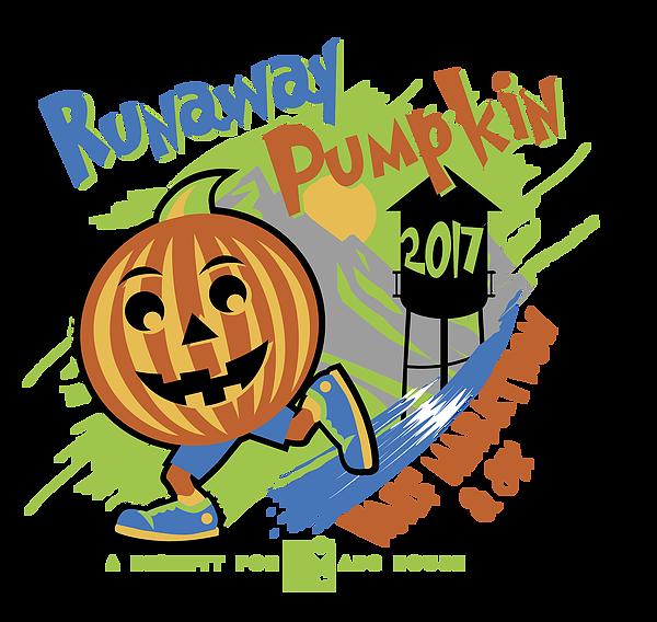 Race preview runaway pumpkin. Fast clipart kid marathon