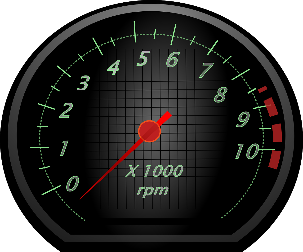 Rpm racing revolution counter. Fast clipart odometer