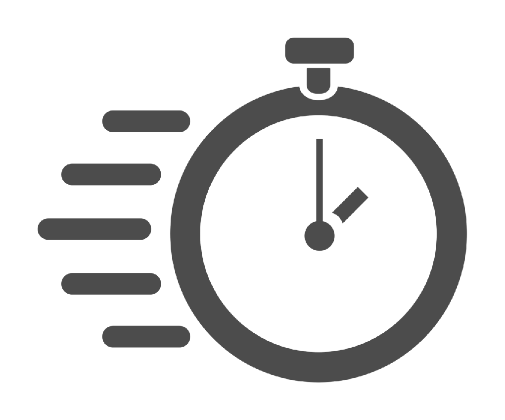 Delivery tracking software app. Stopwatch clipart track