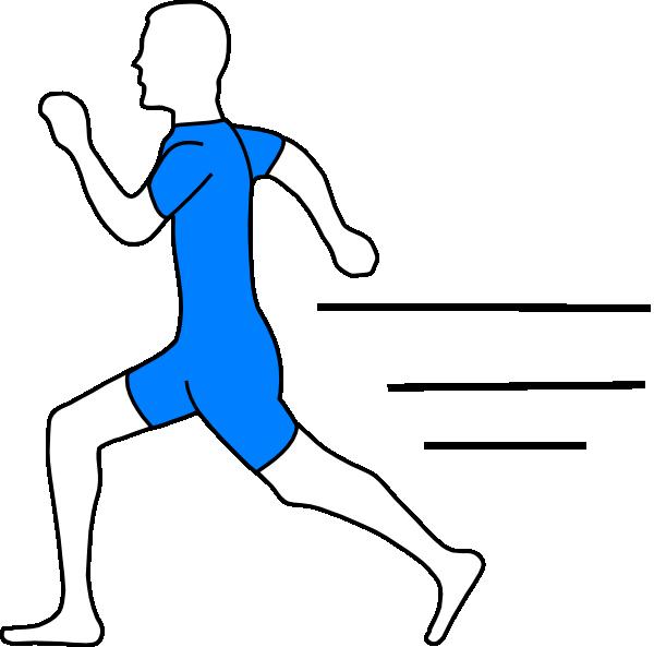 Fast clipart running man. Run clip art at