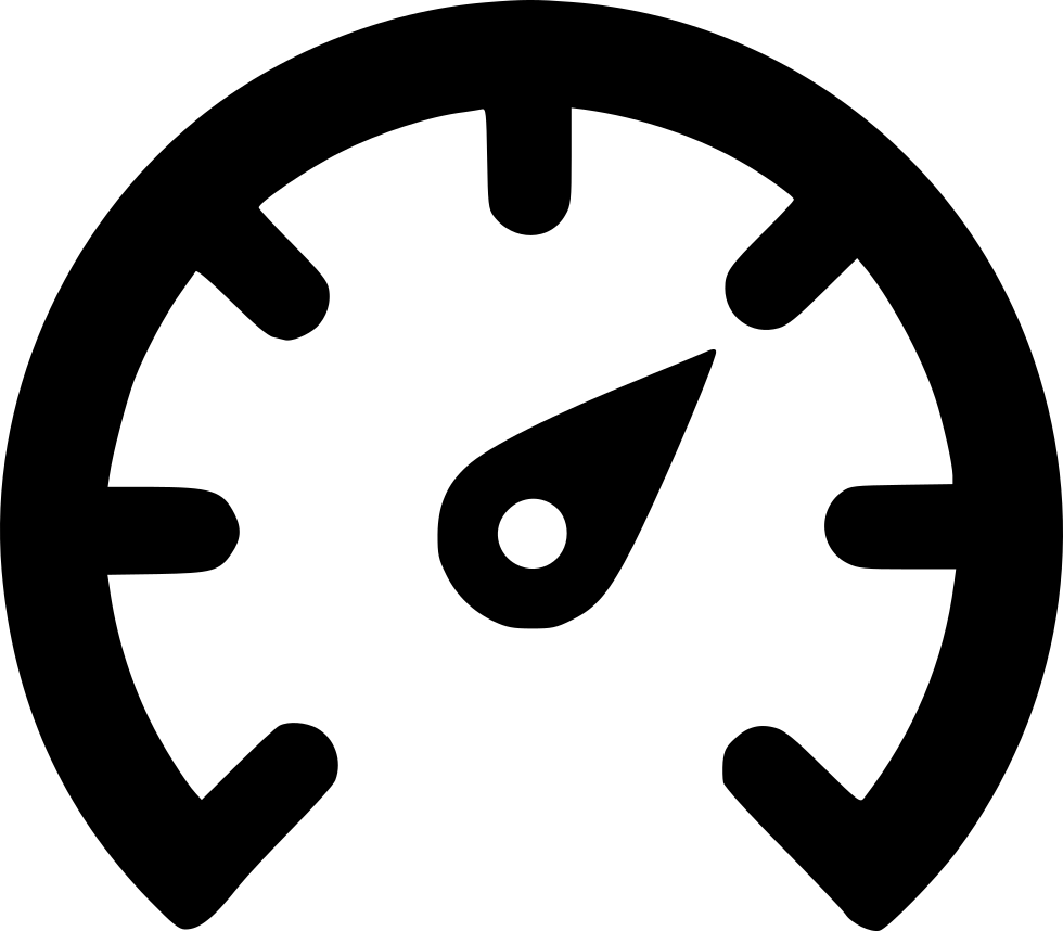 Fast clipart speed meter. Outline svg png icon