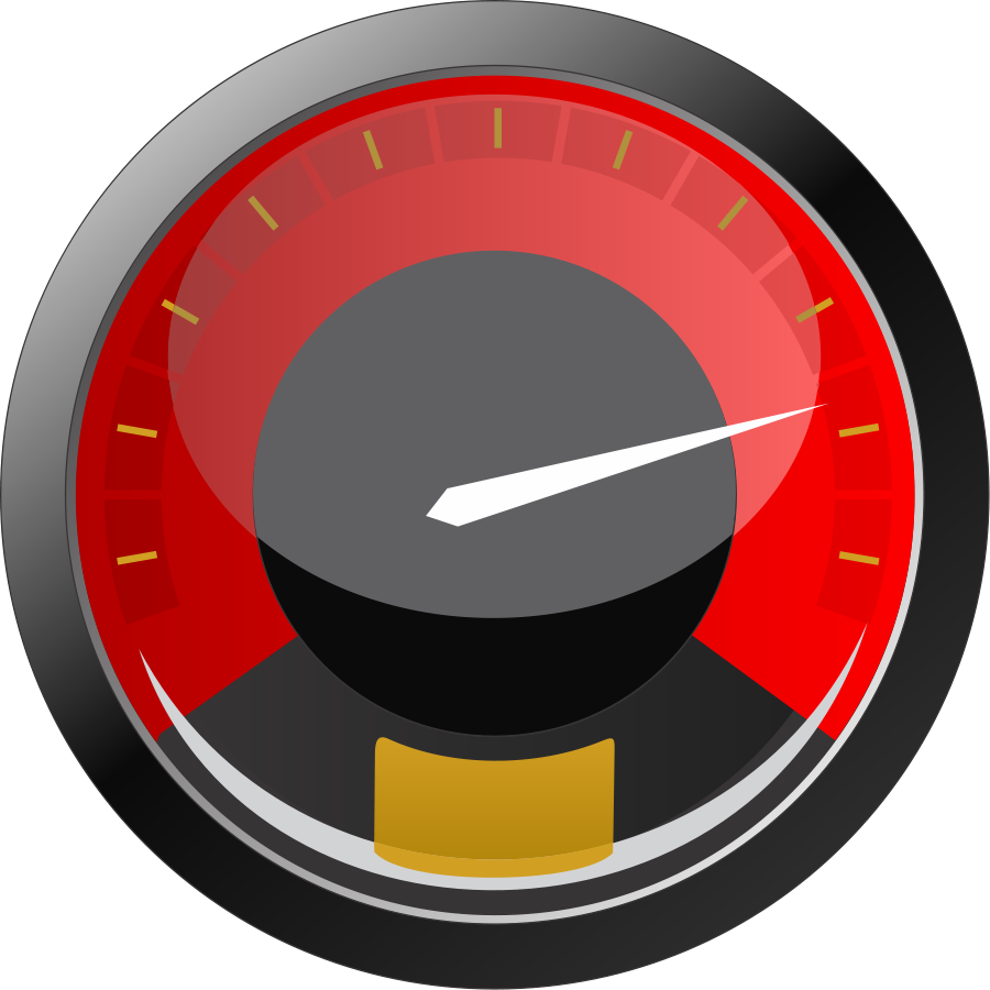 Fast clipart speed meter.  collection of gauge