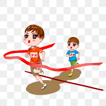 Running png vector psd. Fast clipart to finish