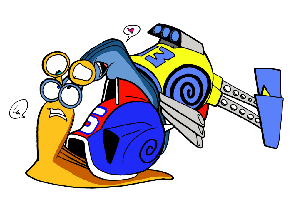 Fast clipart turbo snail. And f a s