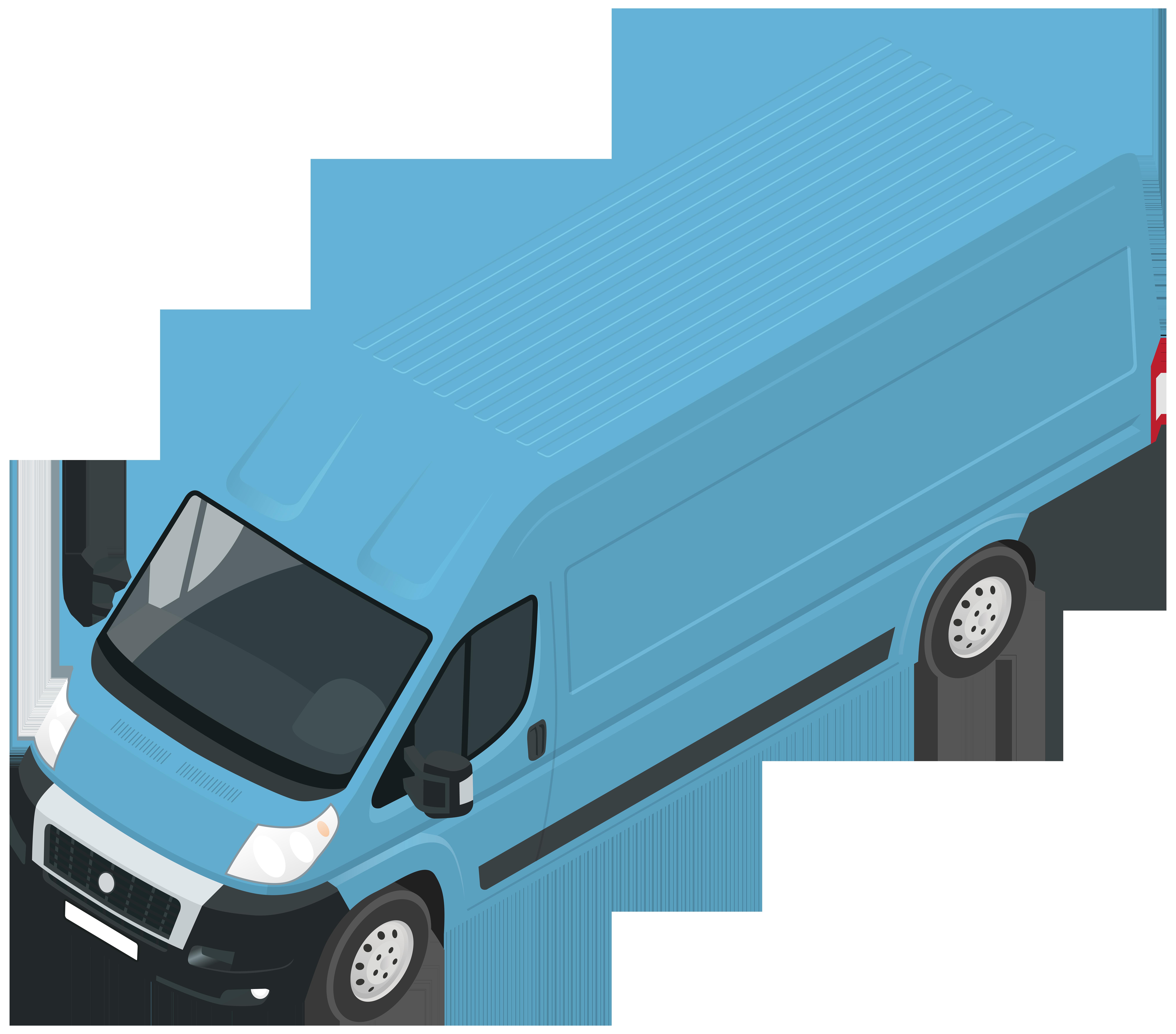 Transportation clipart land clip art. Blue van png best
