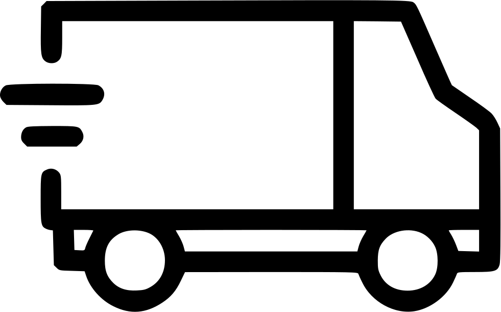 Fast clipart van transport. Delivery shipping svg png
