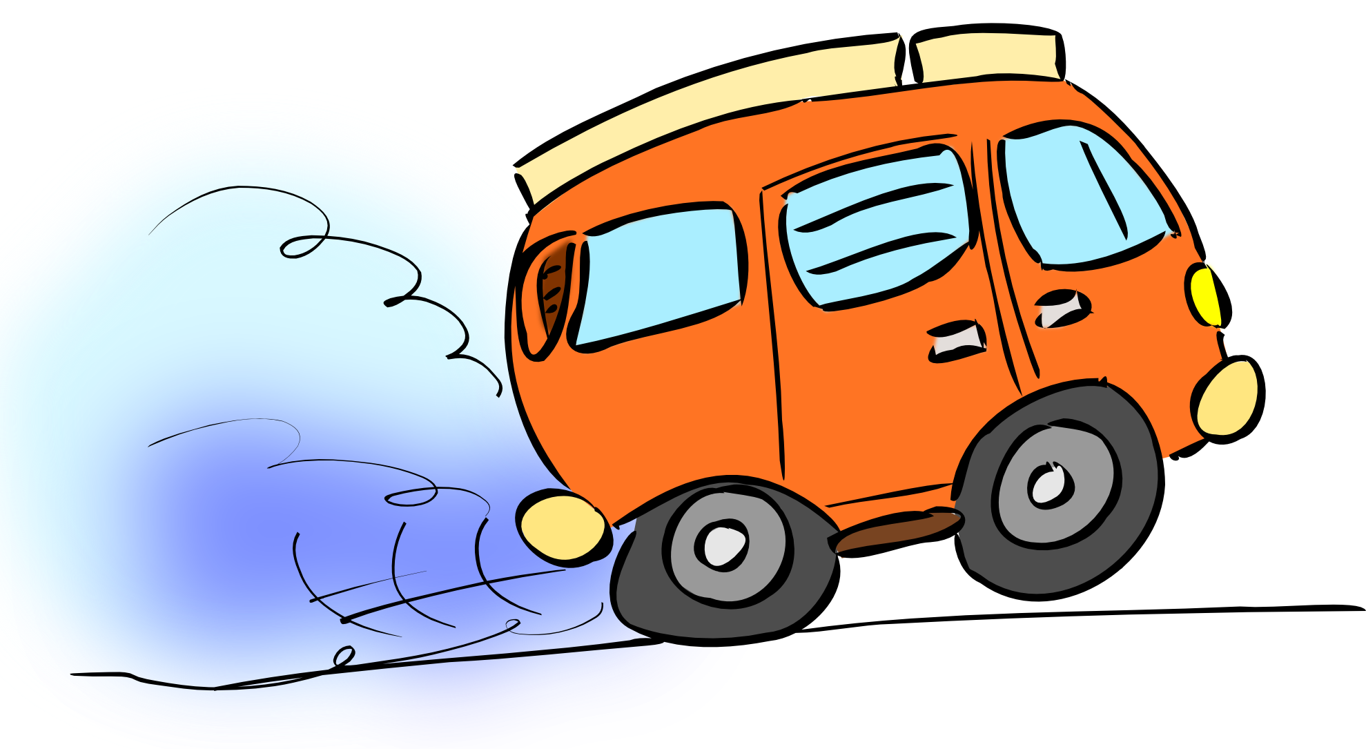 We all are charlie. Fast clipart van transport