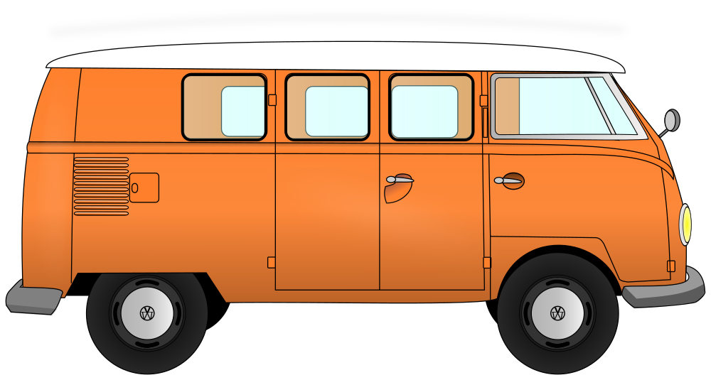 Onlinelabels clip art vw. Fast clipart van transport