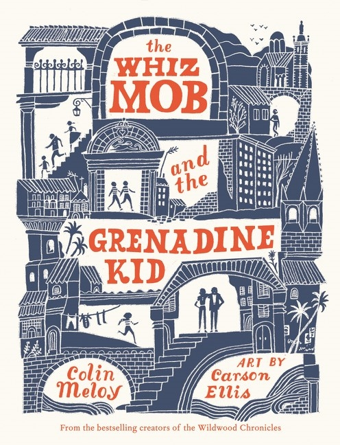 The mob and grenadine. Fast clipart whiz