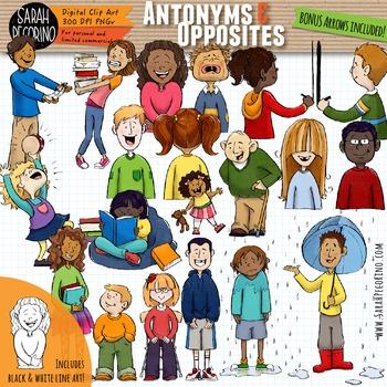 Antonyms opposites adjectives clip. Tall clipart antonym