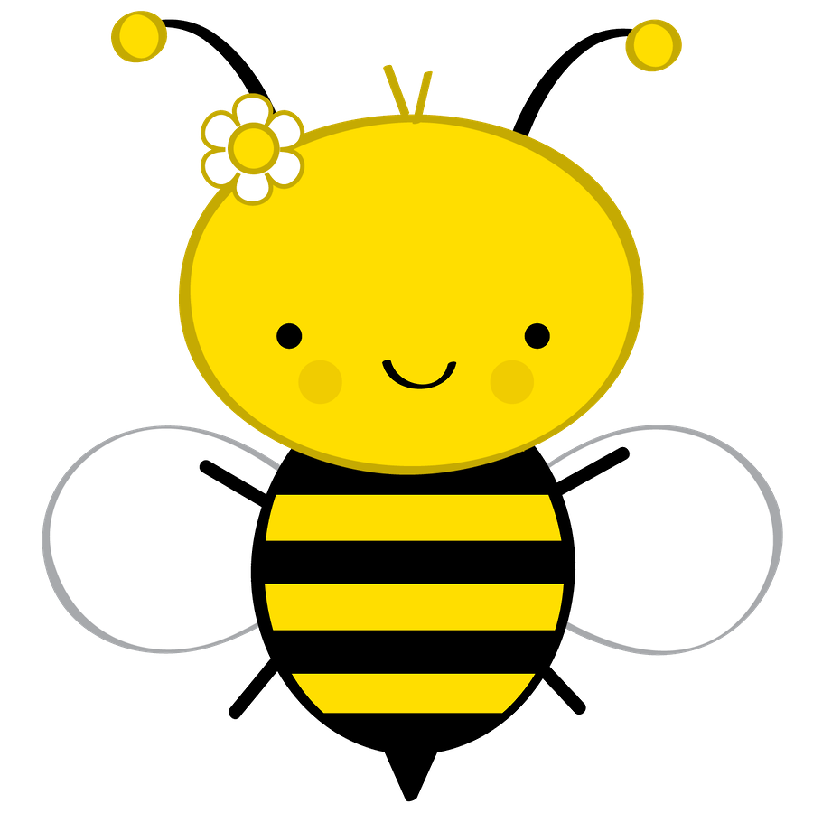 Quality cartoon bumble pictures. Girly clipart bee