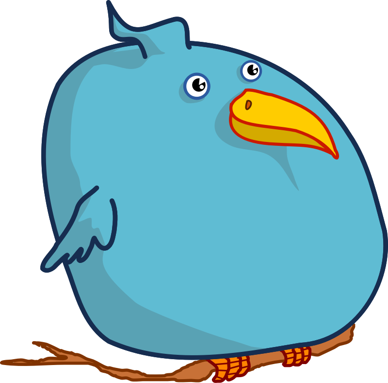 Image for fat bird. Thoughts clipart misconception