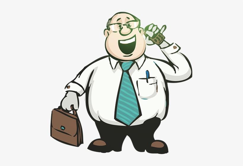 Cartoon x png download. Fat clipart businessman