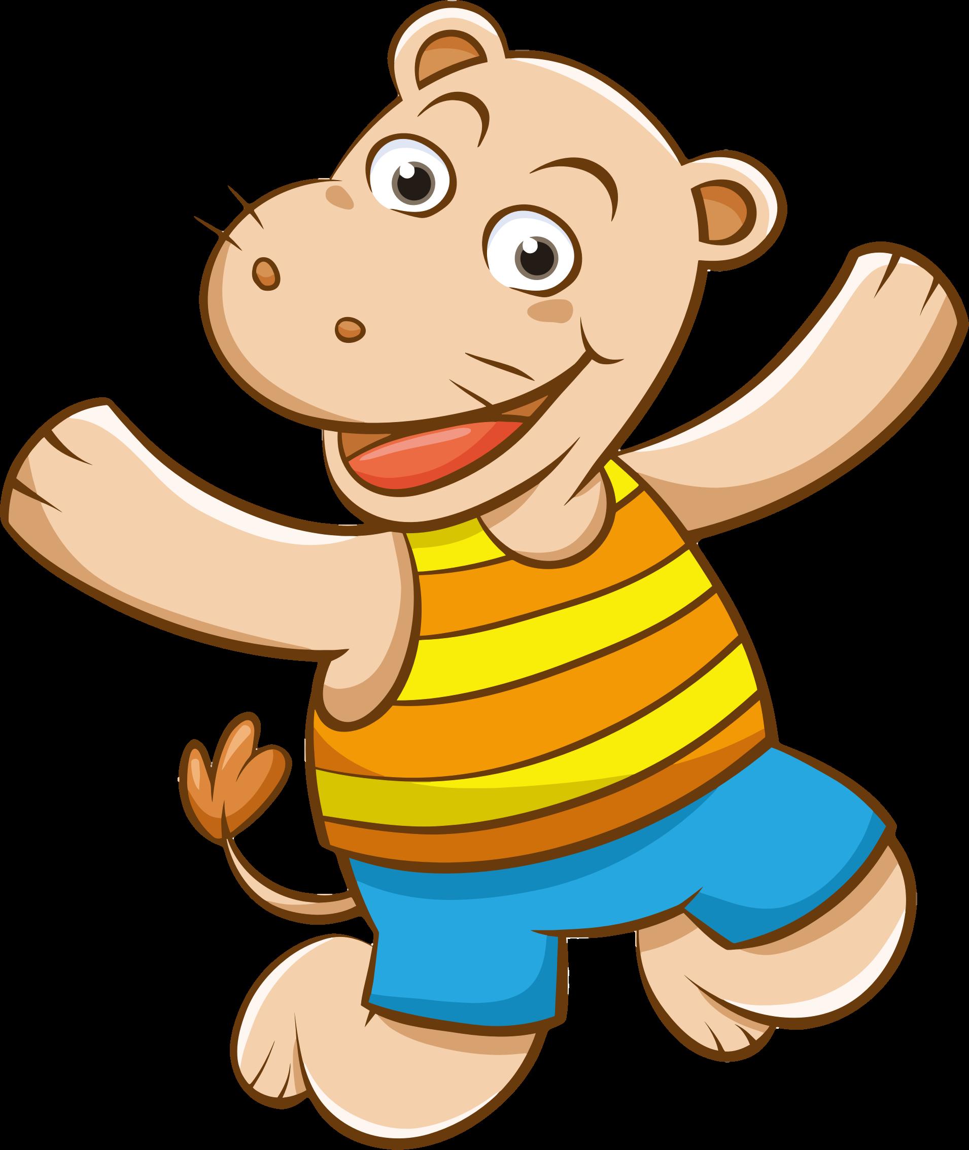 Hippo clipart cartoon. Pinterest