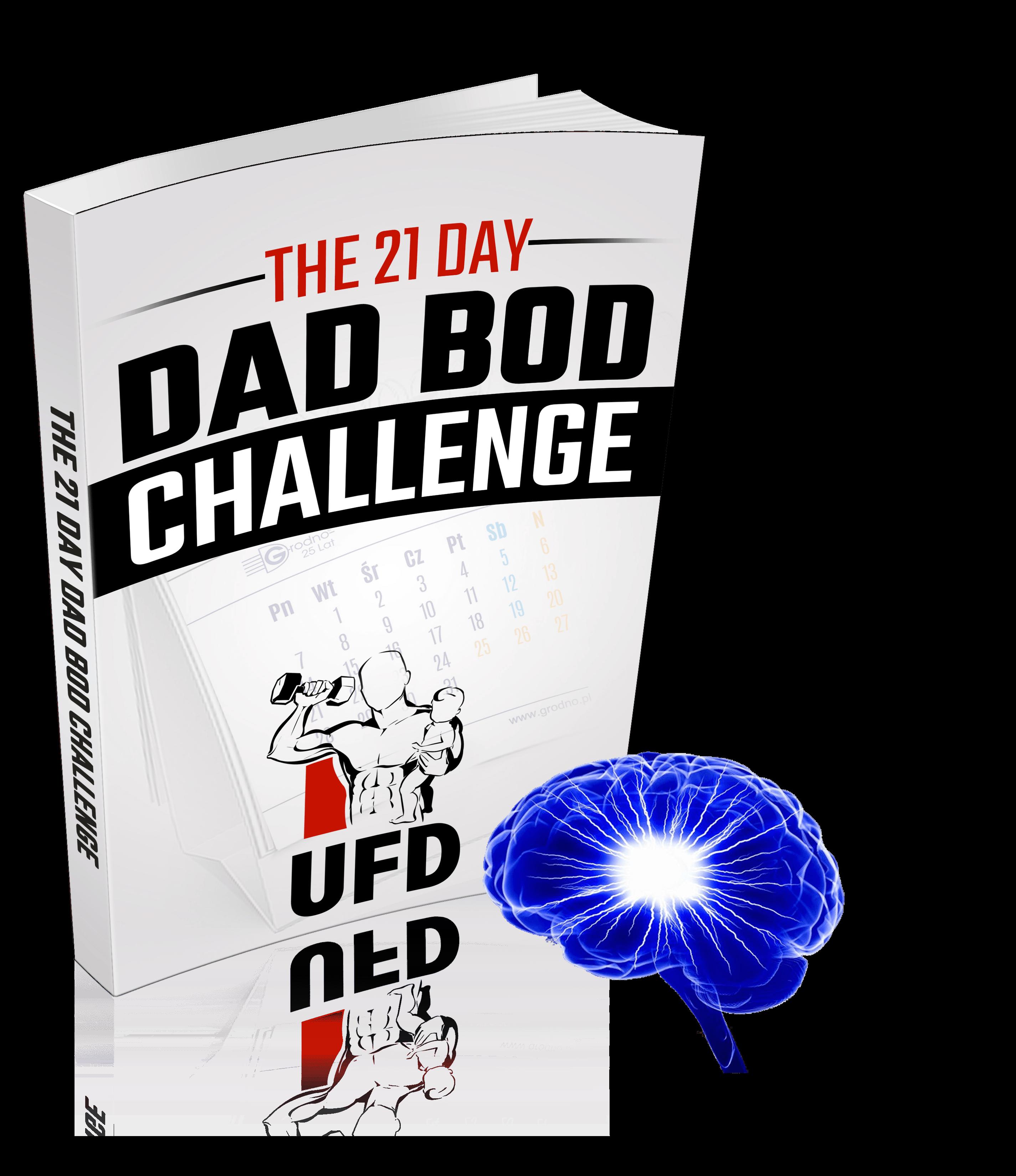 Bod challenge mindset motivation. Fat clipart fat dad