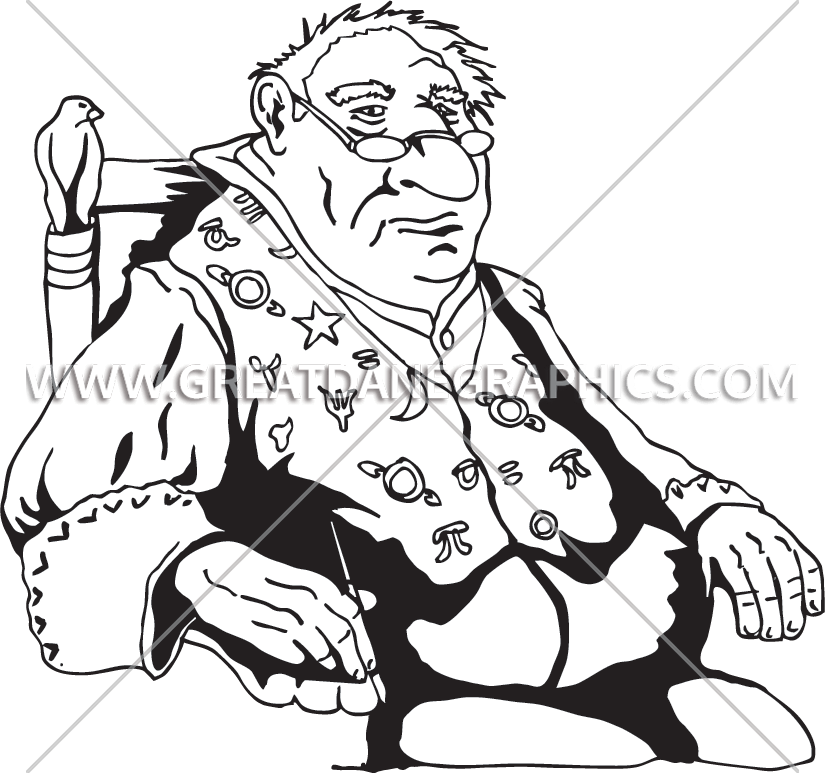 Fat clipart fat dad. Wizard production ready artwork