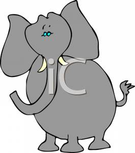 A royalty free picture. Fat clipart fat elephant