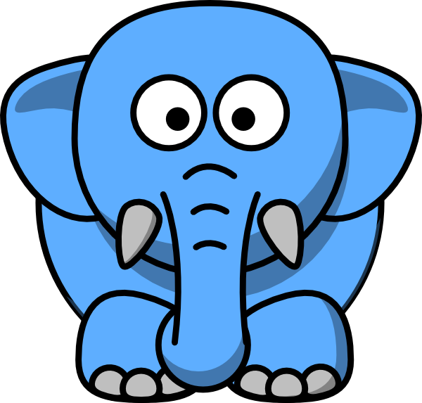 Fat clipart fat elephant. Cartoon clip art at