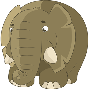 Fat clipart fat elephant. Cliparts of free download