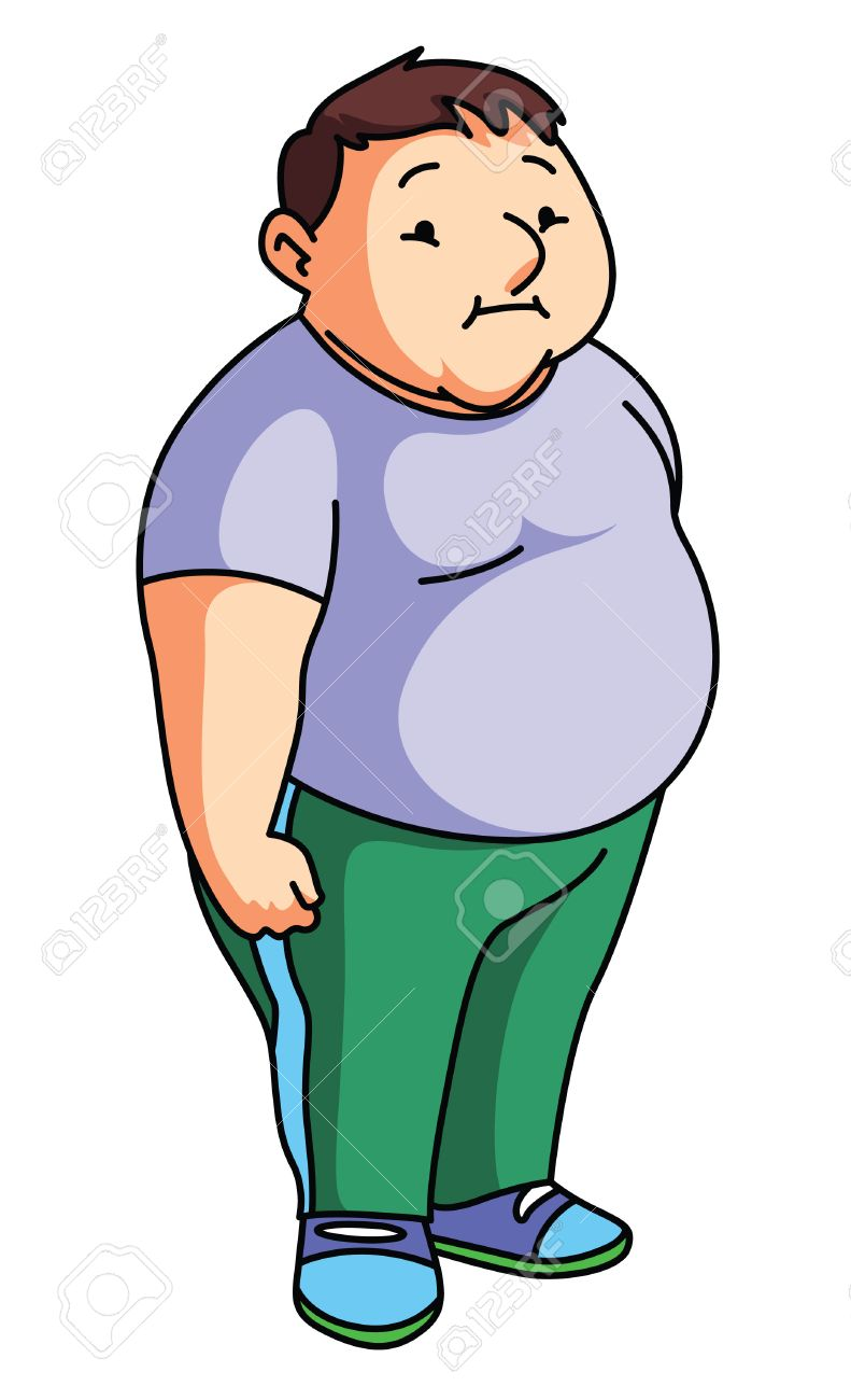 Fat clipart fat person. Station
