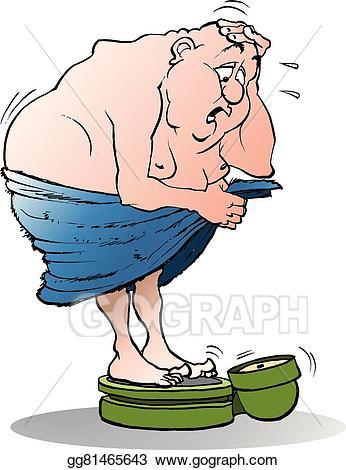 fat clipart fat scale