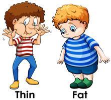 Free vector art downloads. Fat clipart fat student