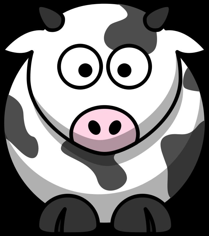 Download cow clip art. Fat clipart fat student