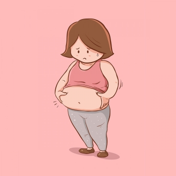 Png vector psd and. Fat clipart fat tummy