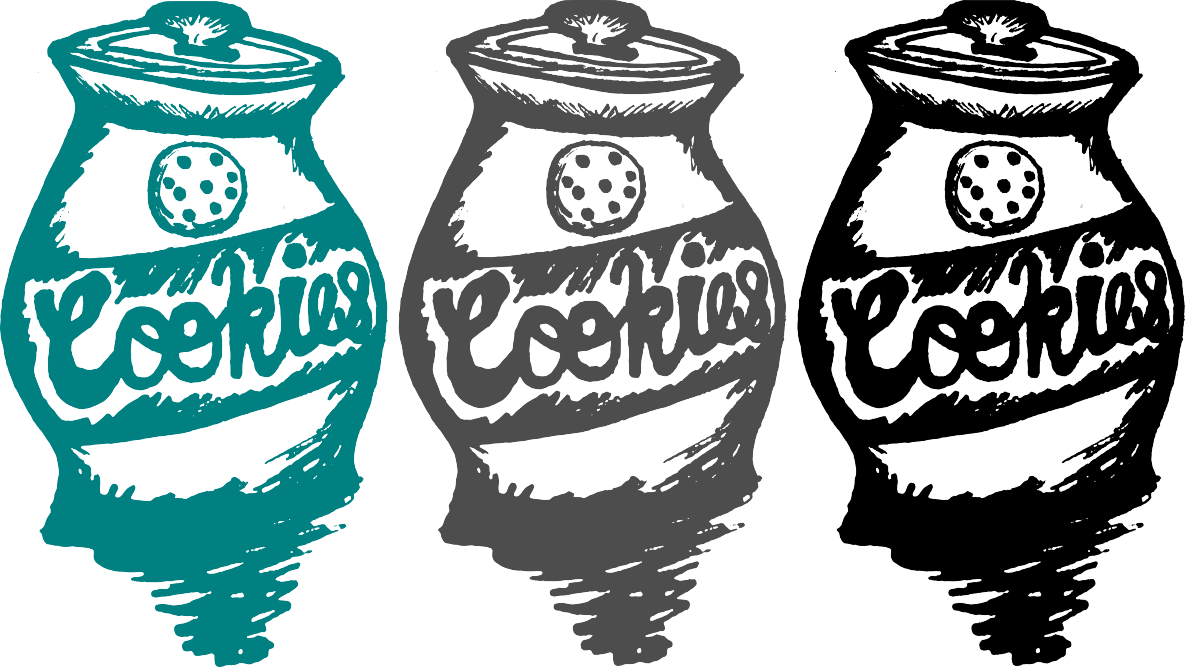Drink illustration cookie jar. Fat clipart food project