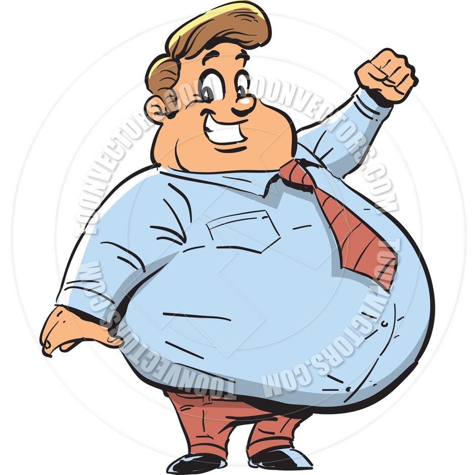 Station . Fat clipart gordo