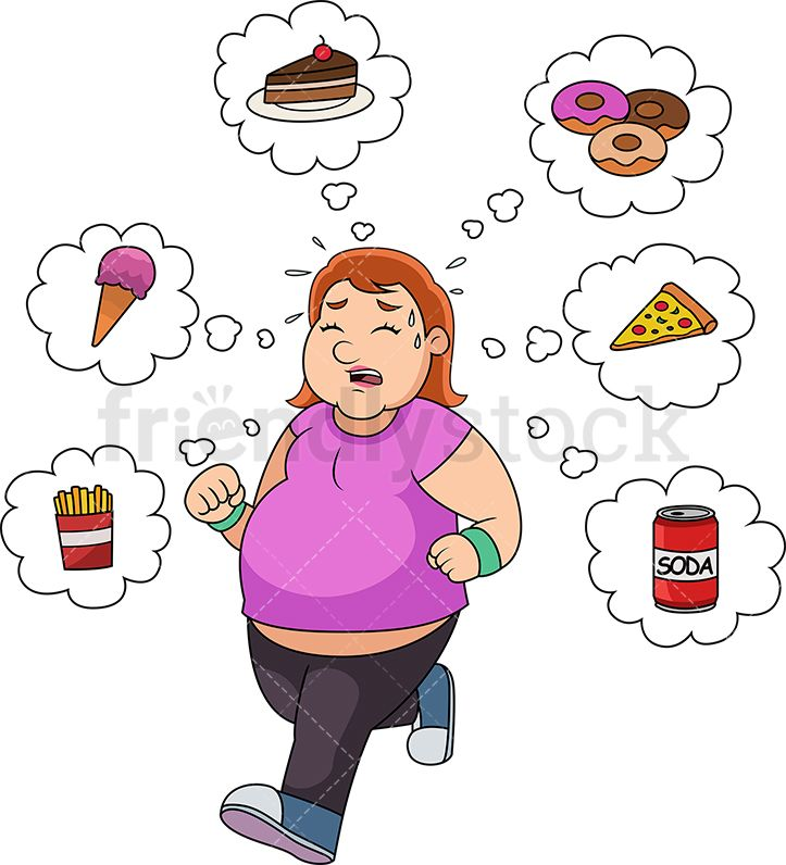 Pin on cartoon exercise. Focus clipart food
