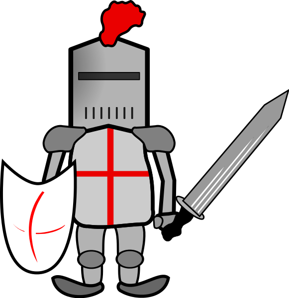 knight clipart victorious