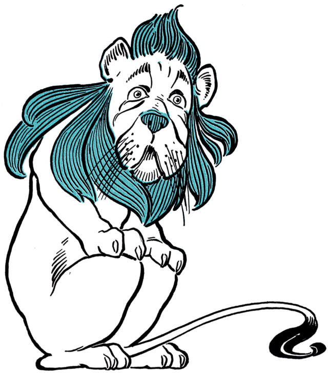 Cowardly lion wikiwand the. Fear clipart coward