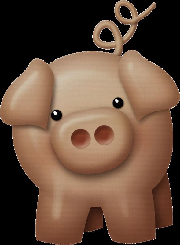 fat clipart piggy bank