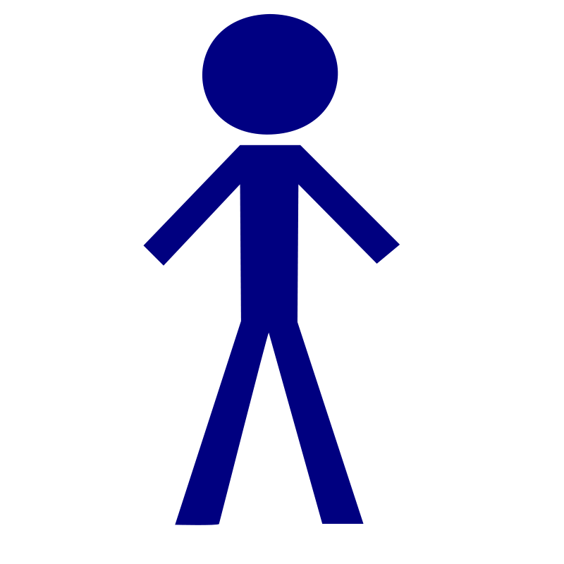 Humans clipart human figure. Free stick man picture