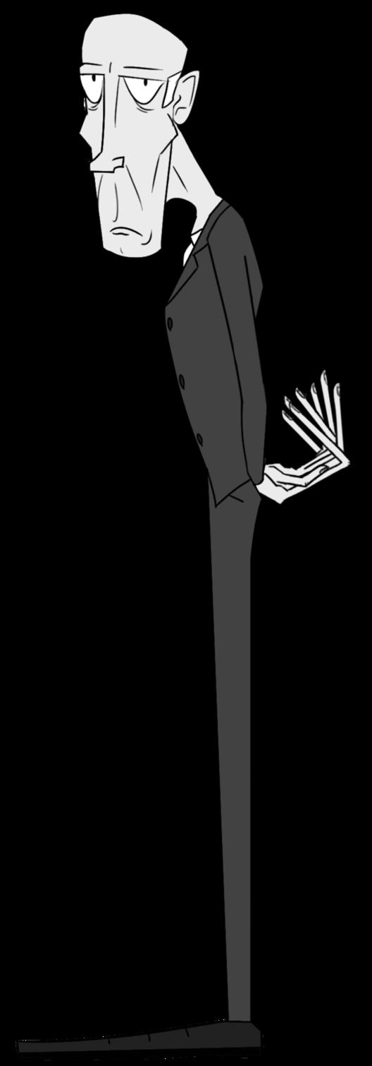 Skinny man cartoon group. Fat clipart thin