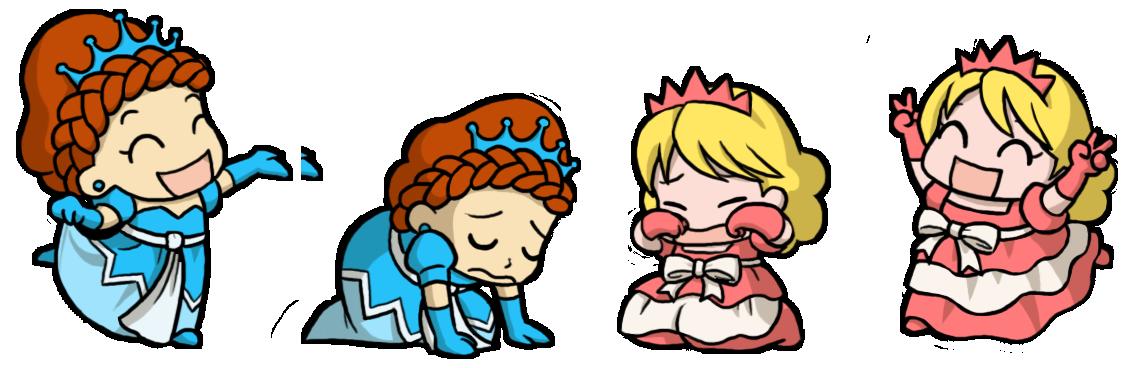 The princesses princess wiki. Fat clipart thin
