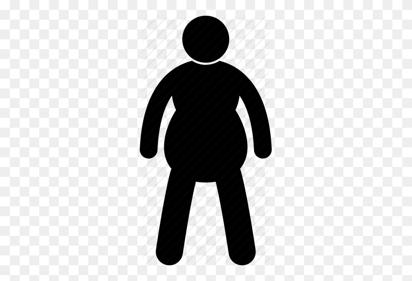 Man obese size unhealthy. Fat clipart underweight person