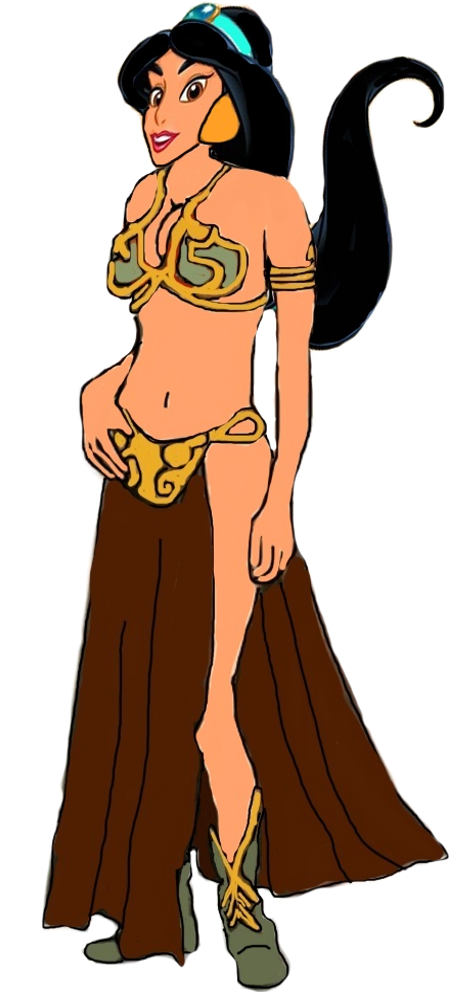 Fat clipart underweight person. Jasmine cartoon evil by