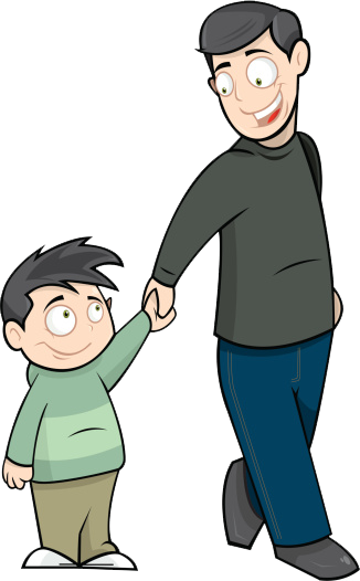 S day fathers clip. Father clipart