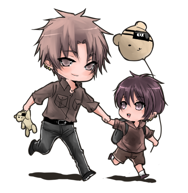 Father and by shrimpheby. Son clipart hug daddy