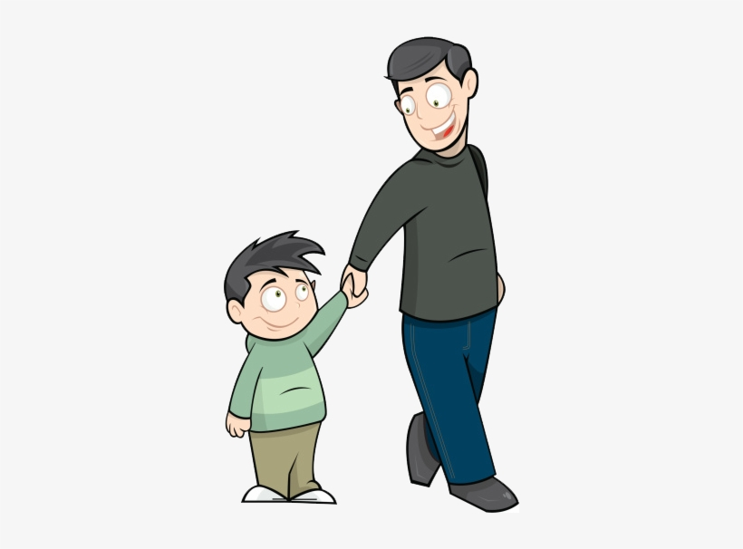 Father clipart father and son. A boat to paradise