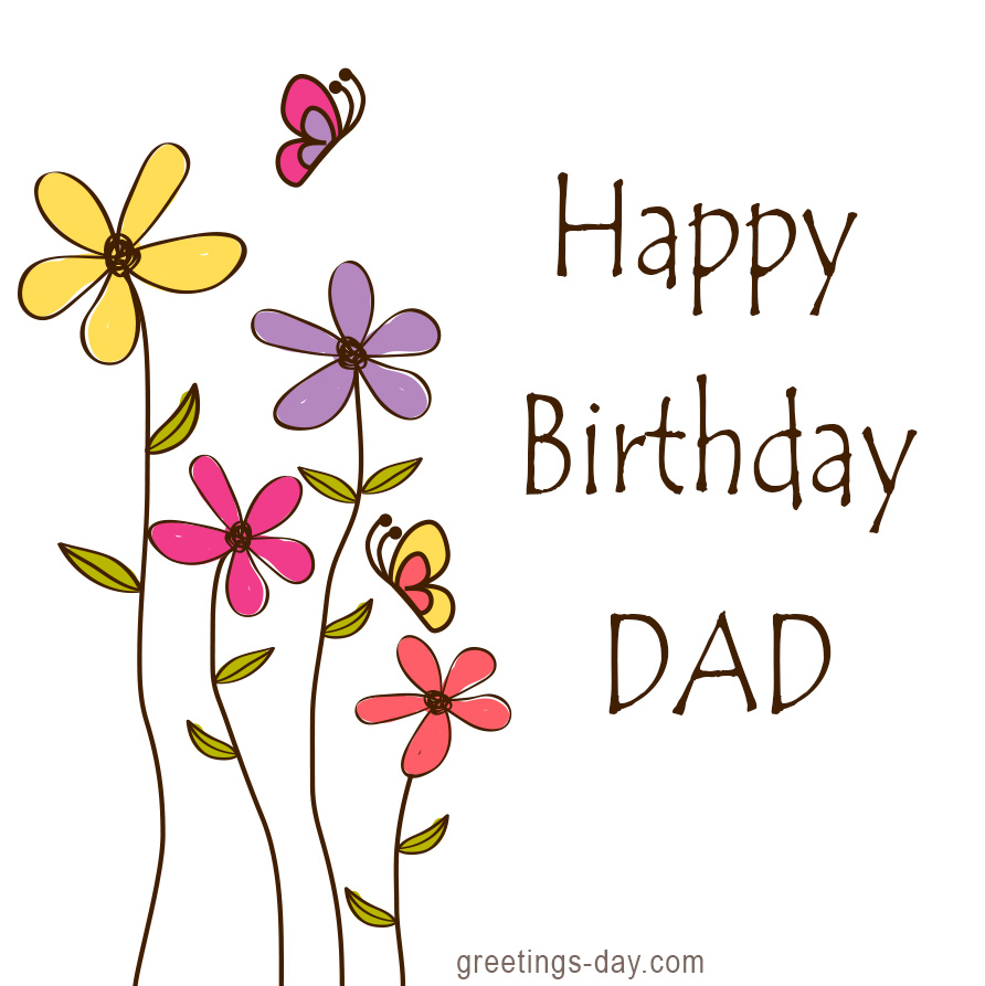 Father clipart father birthday. Happy dad s wishes