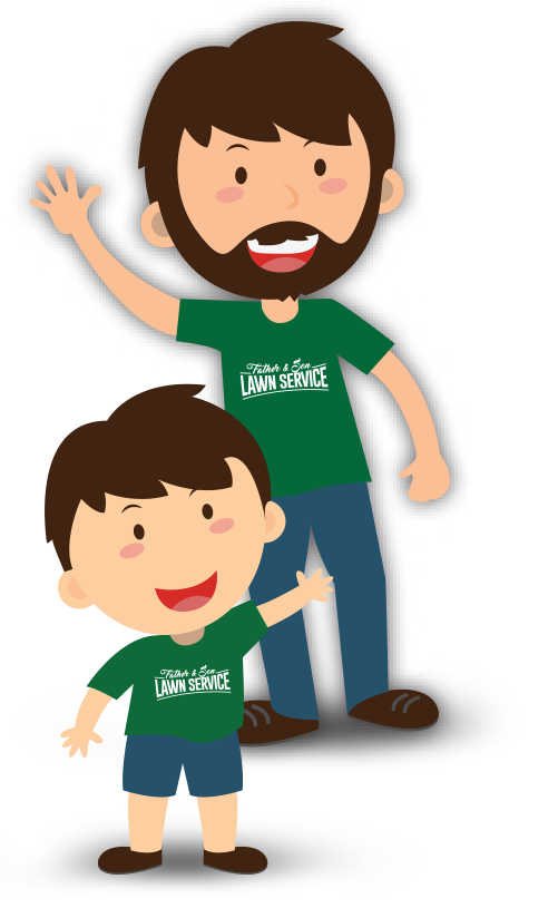 Father clipart father child. Best lawn care services